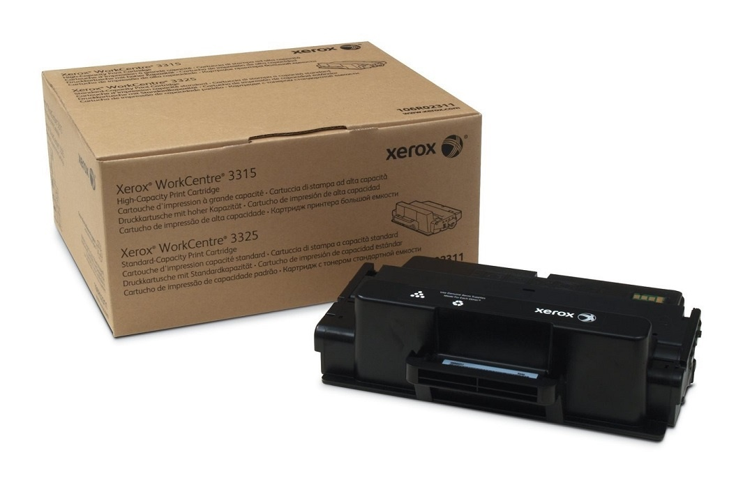 Genuine Xerox Black Standard Capacity Toner Cartridge For WorkCentre 3315 3325 106R02311