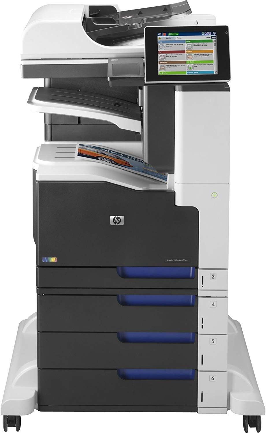 HP LJ MFP M775z CC524A#BGJ Up To 30ppm USB LAN Color Laser Printer ((Unused)