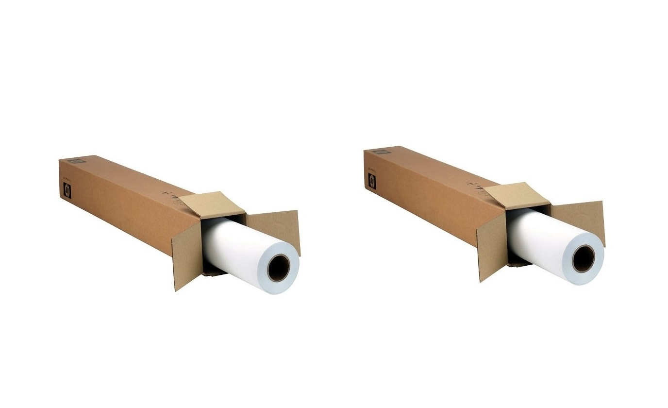 HP C2T52A 42x66' Roll Universal Adhesive Vinyl Pack of 2 C2T52A