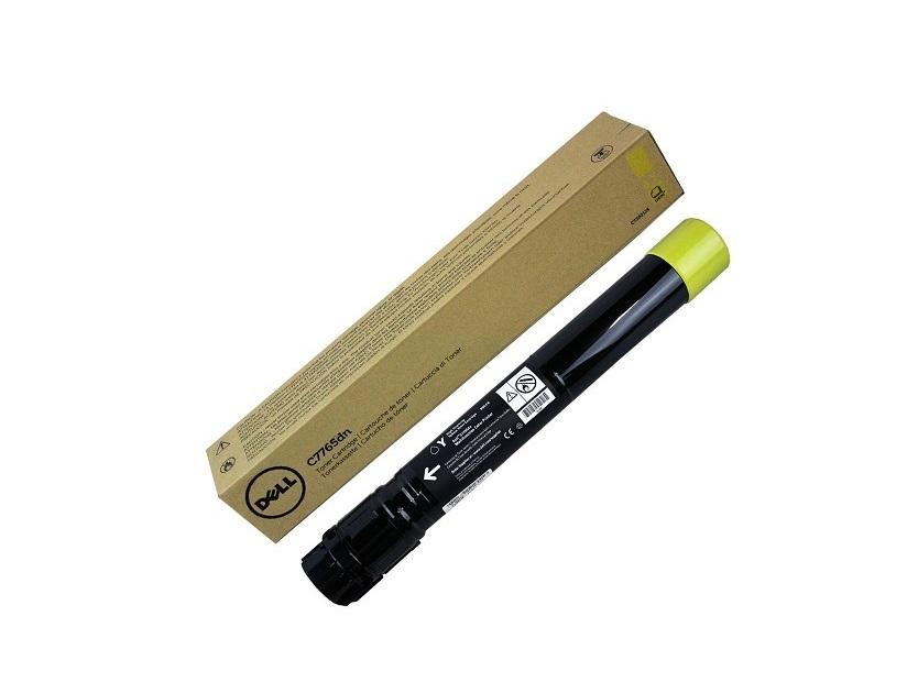 Dell C7765dn Yellow Toner 15000 PG High Yield JD14R 89GCC 332-1875