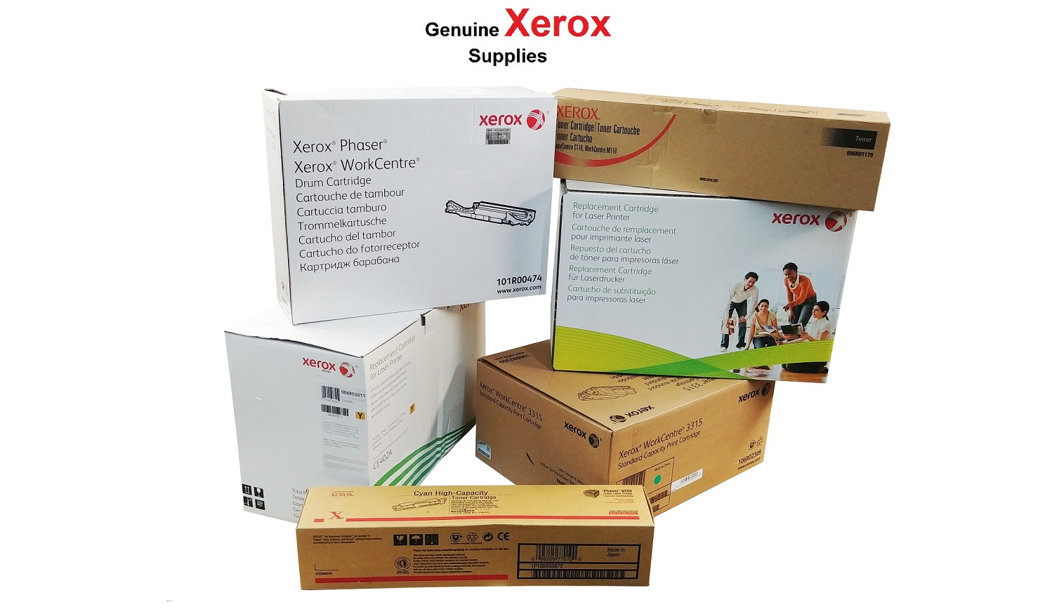 Xerox Black Toner Cartridge For WorkCentre 7500 7800 013R00662