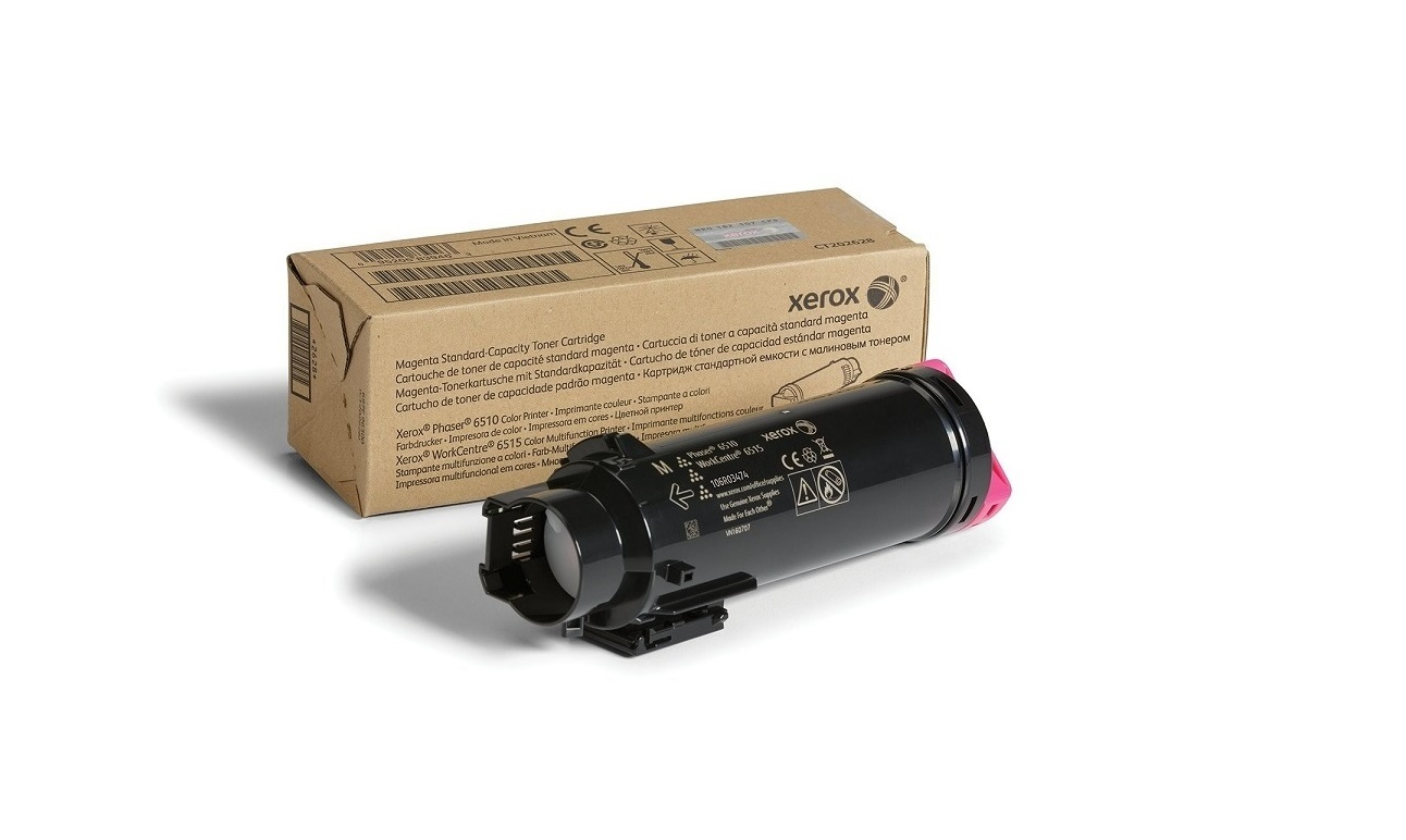 Xerox Magenta Toner Cartridge For 6515 6510 106R03474