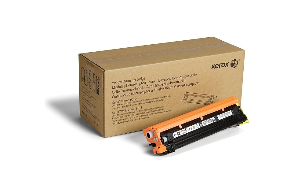 Xerox 108R01419 Yellow Drum Cartridge For Phaser 6510 WorkCentre 6515