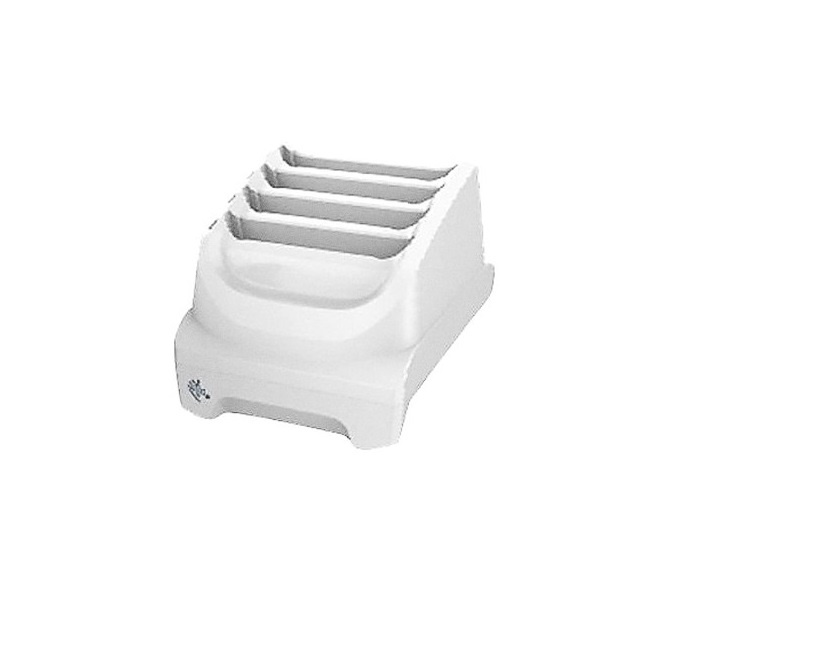 Zebra TC51 / 52 Healthcare 4-Slot Battery Charger White SAC-TC51-HC4SC-01