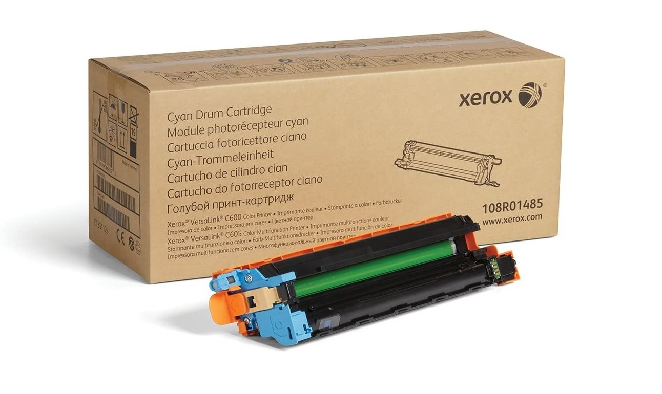 Genuine Xerox Cyan Drum Cartridge For Versalink C600/C605 108R01485