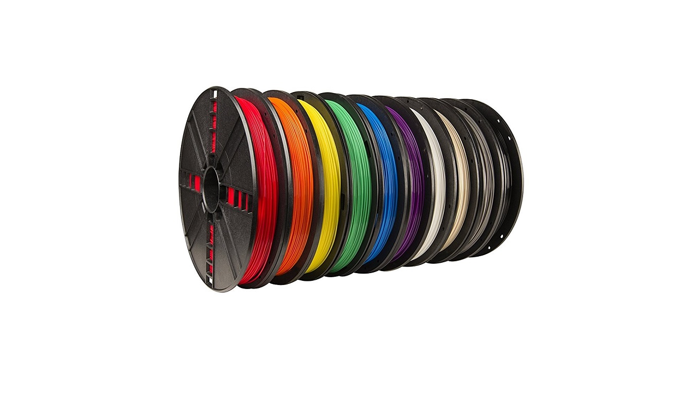 Makerbot 1.75mm Pla Filament Large Spool 10-Pack MP06572