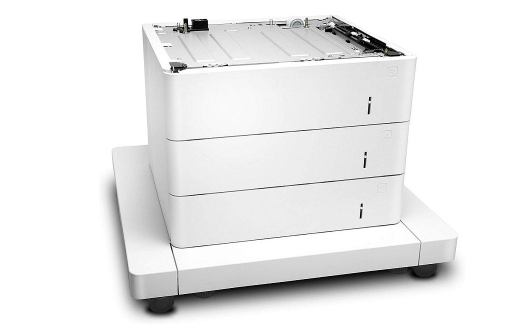 HP J8J93A LaserJet 3x 500-Sheets Feeder With Cabinet For MFP M631dn J8J93A