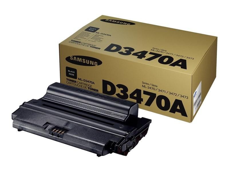 Samsung Original Black Toner Cartridge ML-3470A/SEE ML-3470A