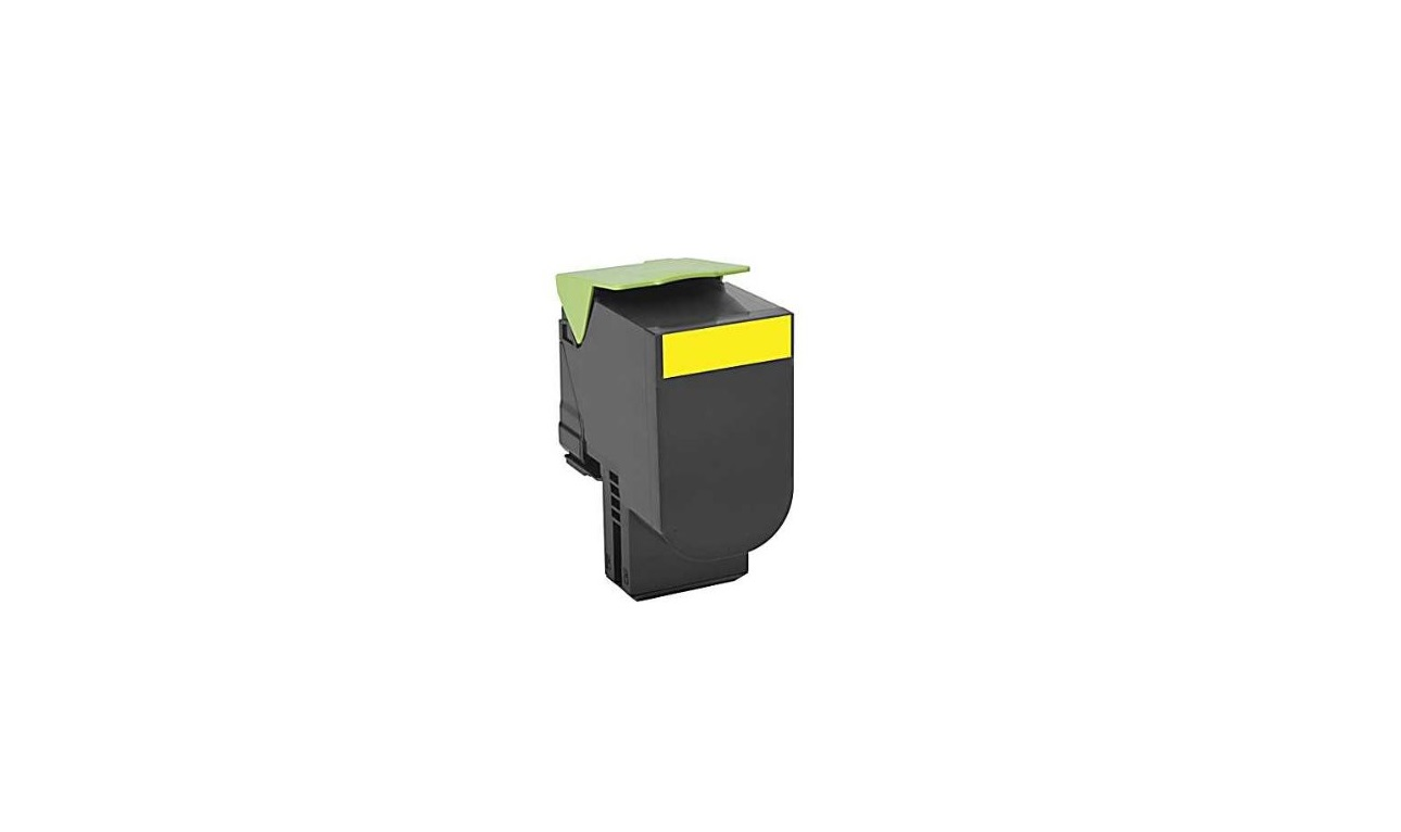 Lexmark Genuine Yellow Toner Cartridge 2K Yield 80C0S40