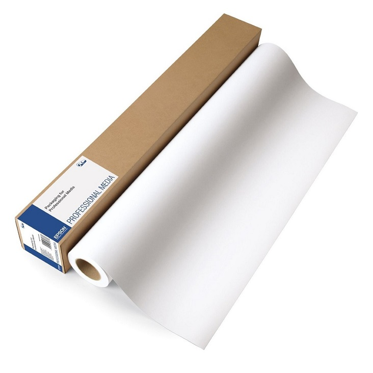 Epson Proofing Semimatte Paper 44x100 Feet 1 Roll White S042006
