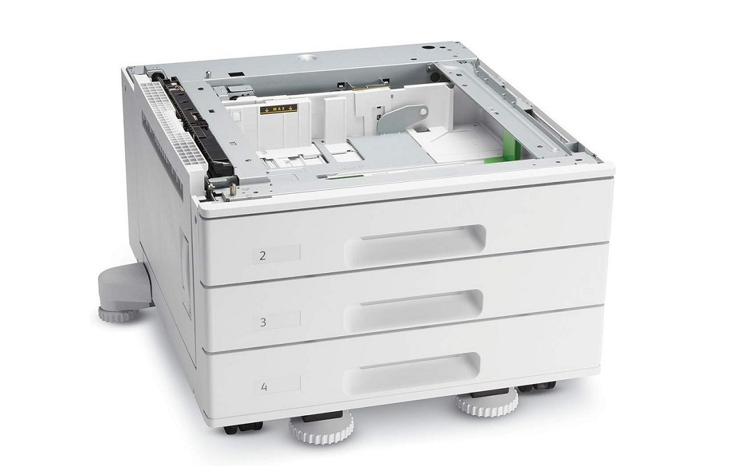 Xerox 3- 520 A3-Sheets Trays 097S04908 1560-Sheets Three Tray Module
