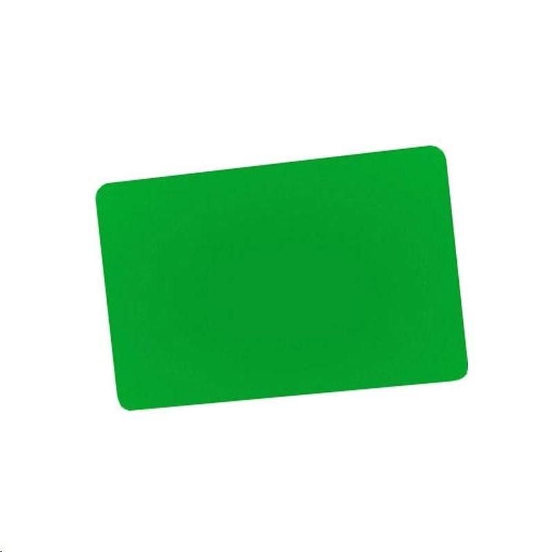 Zebra 104523-135 Green PVC 30 Mil Pack of 500 Cards 104523-135