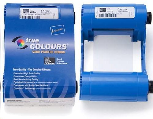 Zebra Genuine Ymcko Color ID Card Ribbon For P100i/P110i/P120i 800017-240