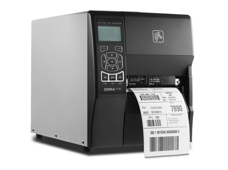 Zebra ZT230 ZT23042-T01000FZ 203dpi Mono TT Serial USB Label Printer (New Sealed)