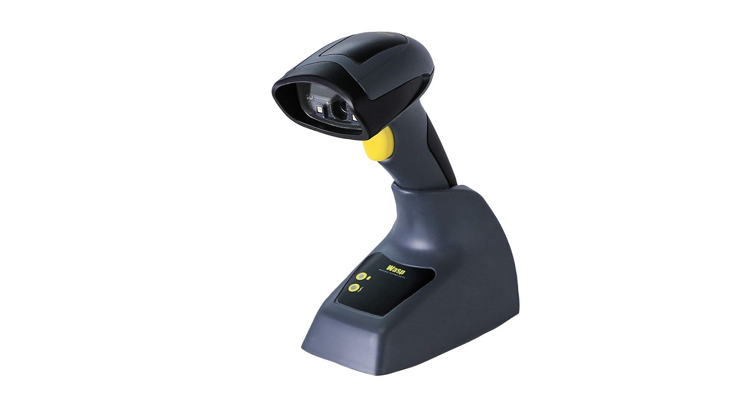 Wasp WWS650 Wireless 2D BarCode Scanner Kit 633809002885