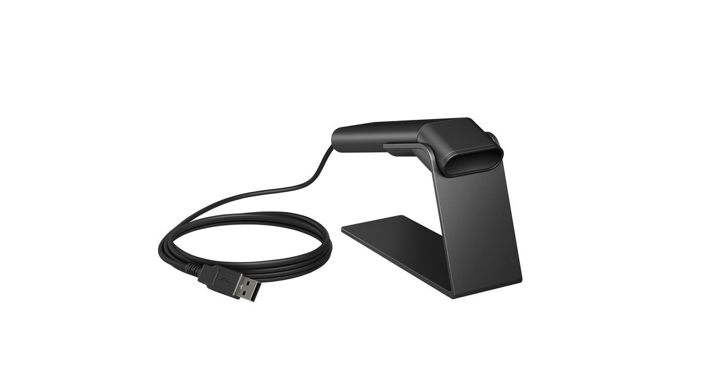 HP 1RL97AT Engage one 2D BarCode Scanner Black