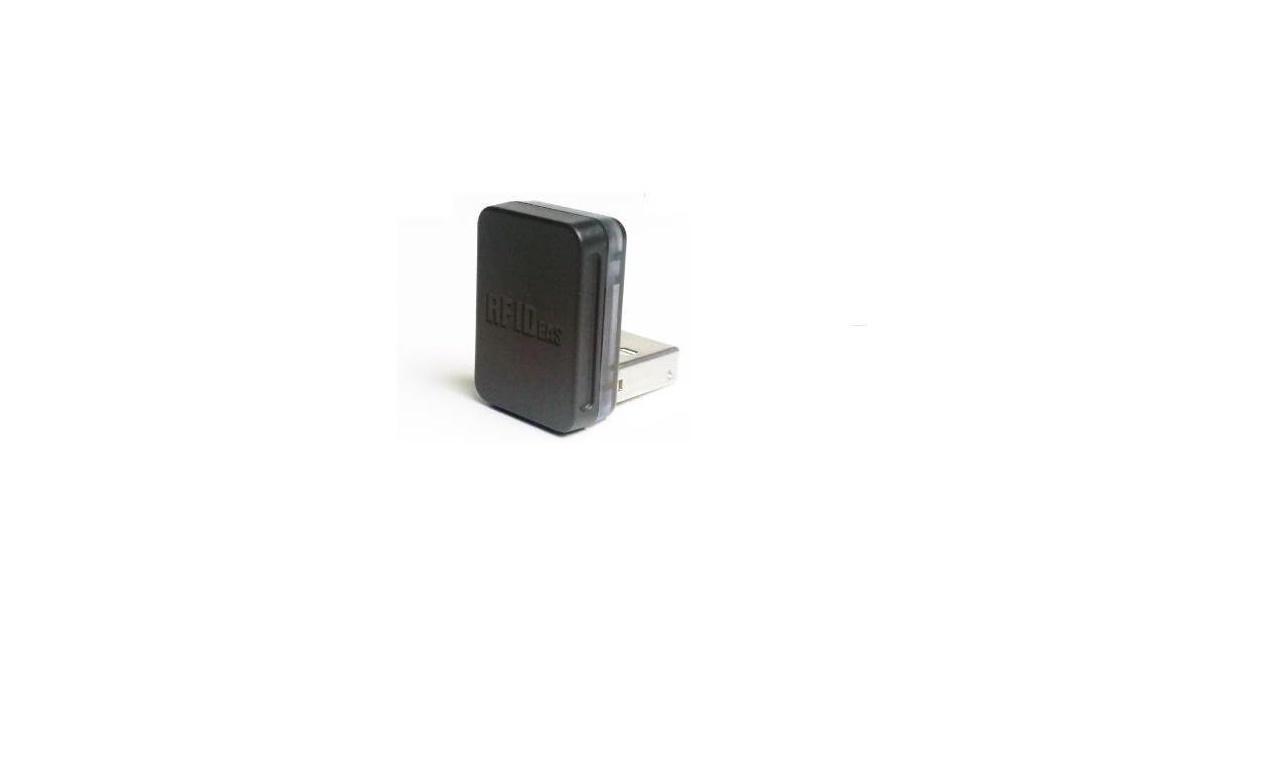 RF Ideas pcProx 82 Series RFID Reader 13.56MHz Csn Vertical USB Nano Black RDR-7512AKU