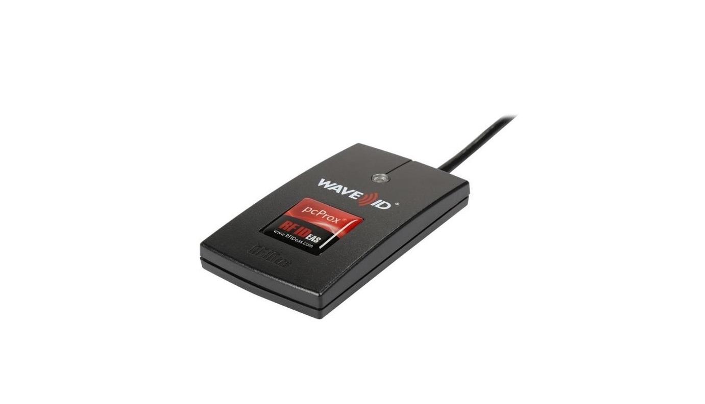 RF Ideas RDR-6E81AKU pcProx Enroll EM410x Black USB Reader