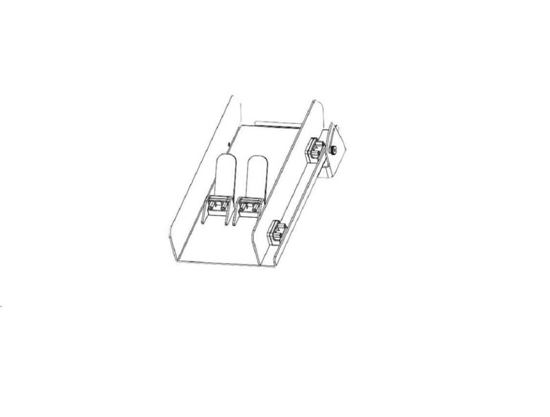 Zebra ZT610 Printer Catch Tray Kit Standard P1083320-086