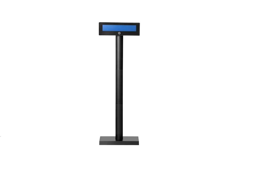 Hp Engage Customer Pole Display 2x20 Digits Usb Black 5RD97AT