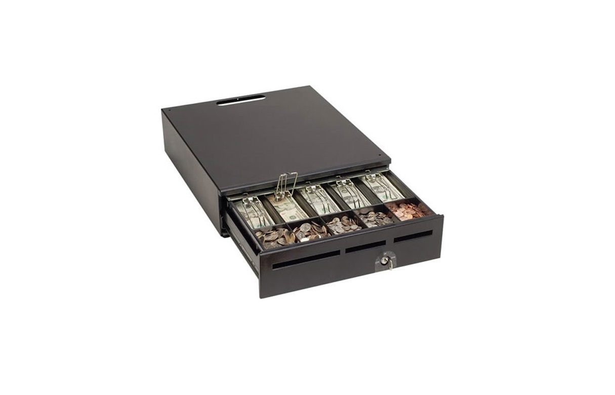 Media Plus Mmf 17x18 5xBill 5xCoin Cash Drawer Black 226-125181372-04