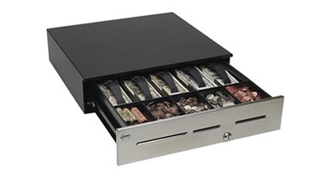 MMF Advatage 18x16.7x4.6 5x Bill 5x Coin USB Cash Drawer ADV-113B11810-04