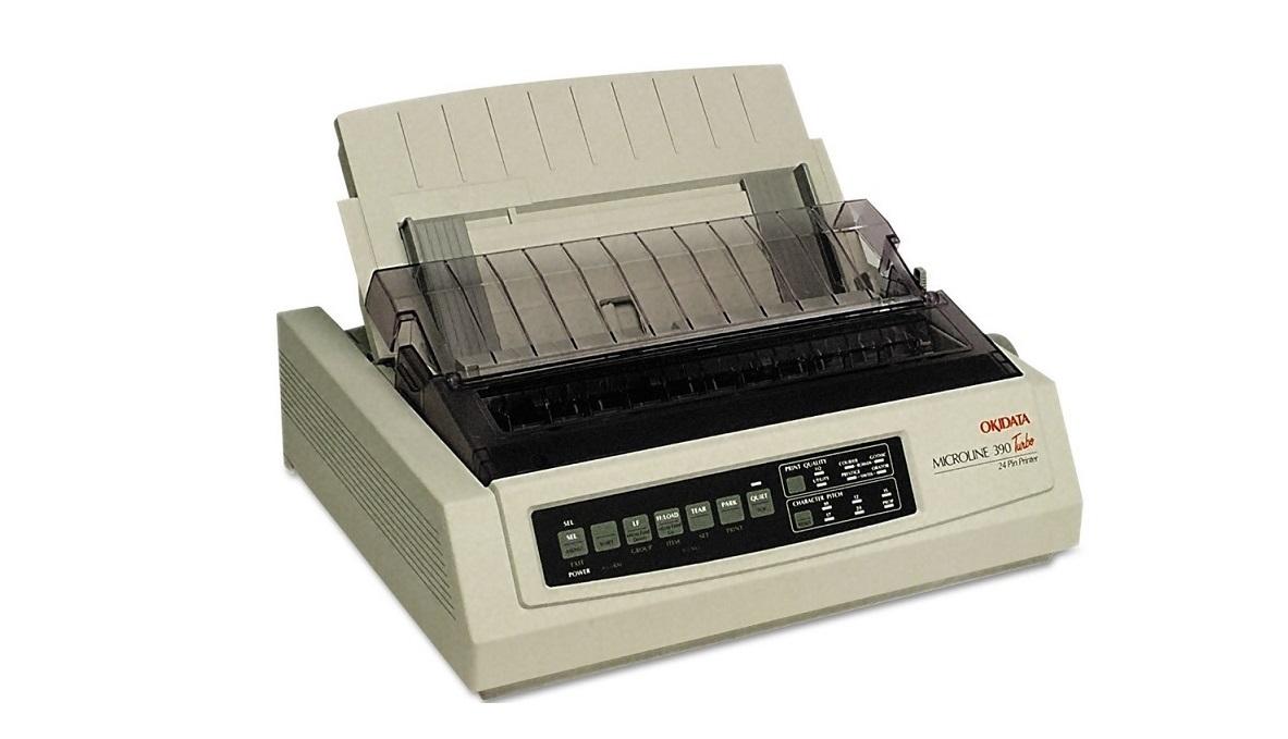 OKI Microline 390 Turbo/N B/W DotMatrix Parallel USB RJ45 Printer 62415901