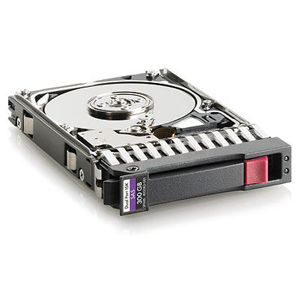 300GB SAS HP Dual Port Hot-Swap 10000RPM 6G 2.5 Internal Hard Drive 507127-B21 Enterprise
