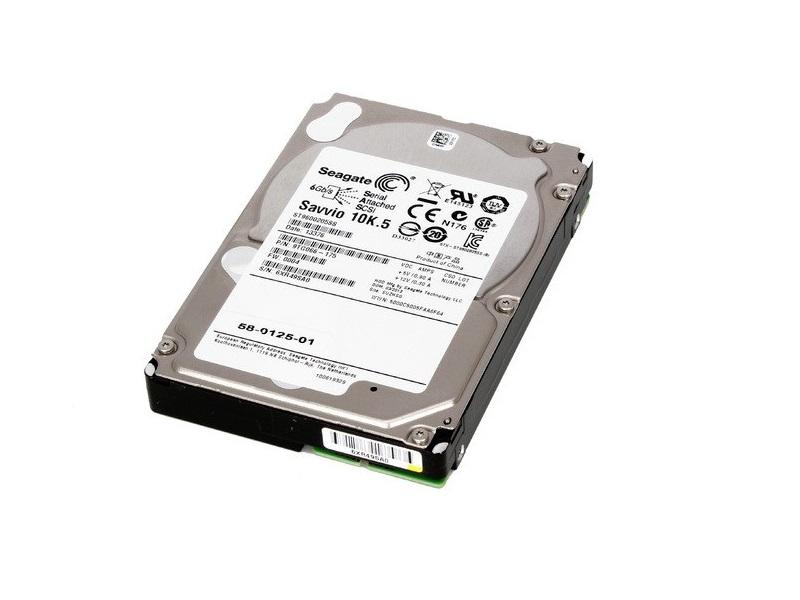 Seagate 600GB Sas Savvio 6GB/s 10000RPM 64MB Buffer 2.5 Internal Hard Drive ST9600205SS