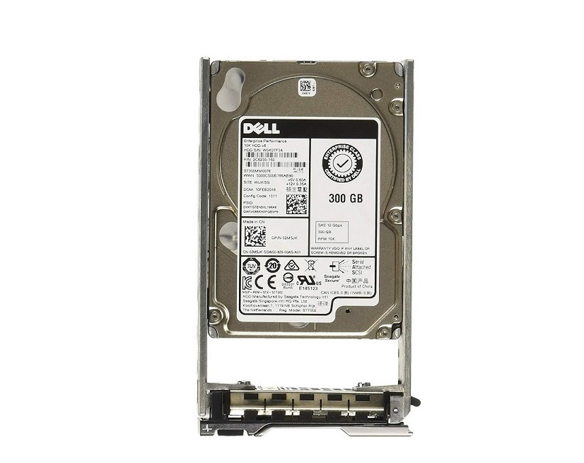 300GB Dell 400-AJOO 10K RPM SAS 12Gbps 2.5 Hot Swap Internal Hard Drive 400-AJOO