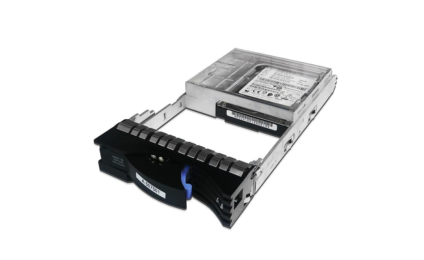 300GB Lenovo SAS 15000RPM 2.5 To 3.5 Hot-Swap Hard Drive For Storage V3700 v2 01DE331