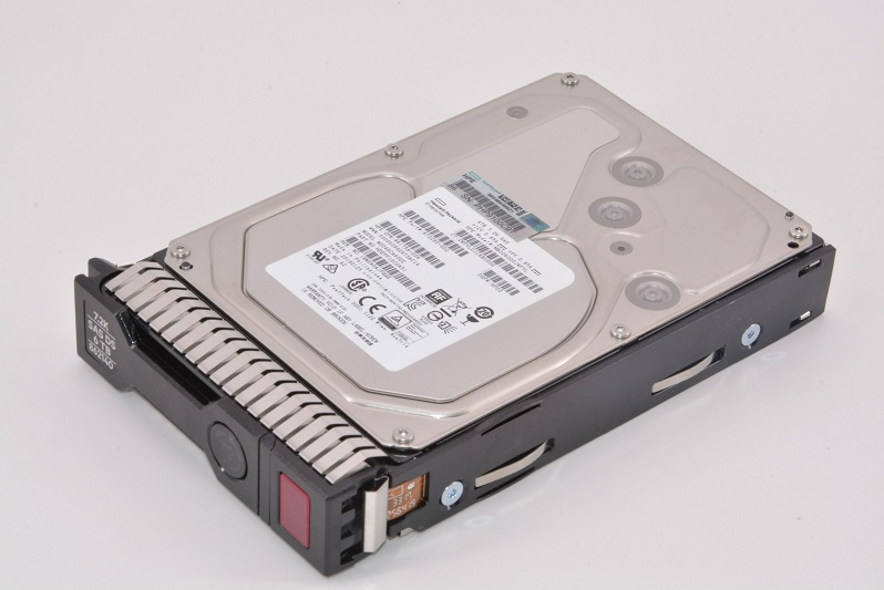 6TB HP Genuine 7200RPM SAS 12GB/s 512e MDL 3.5 Hot Swap Internal Hard Drive 861754-B21