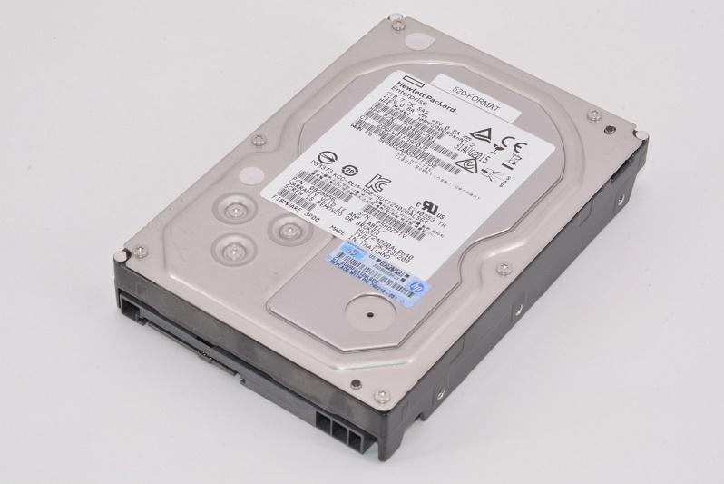 2TB HP SAS 7200RPM 6Gbps Nearline Non Hot Swap 3.5 Internal Hard Drive 742210-001