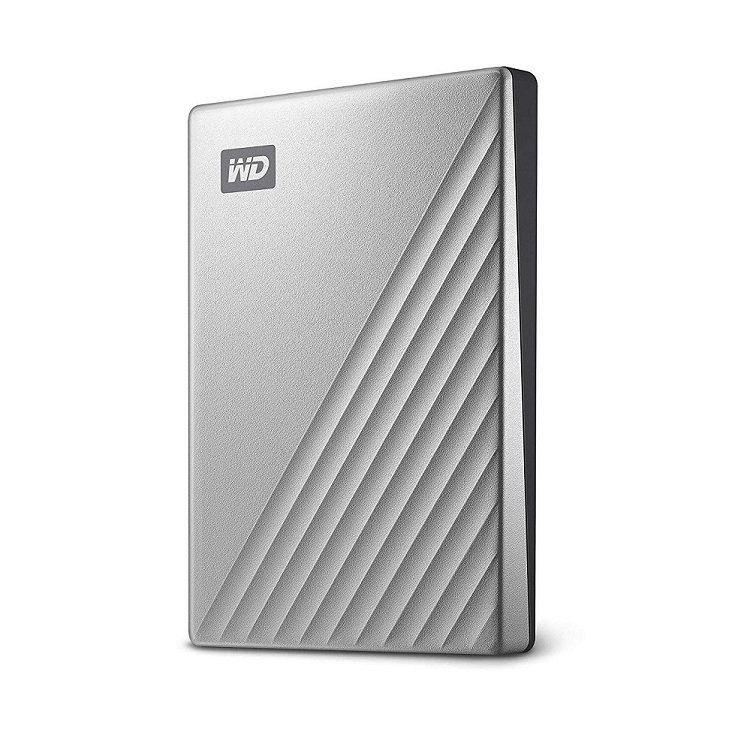 Western Digital 1TB My Passport Ultra Portable 2.5 External Hard Drive Silver WDBC3C0010BSL-WESN