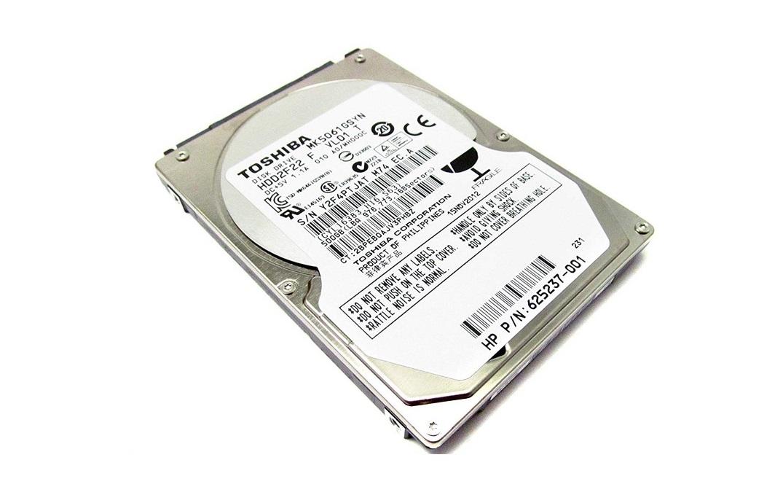 Hp 500GB 625237-001 Toshiba Sata 7200RPM 16MB 2.5 Internal Oem Hard Drive