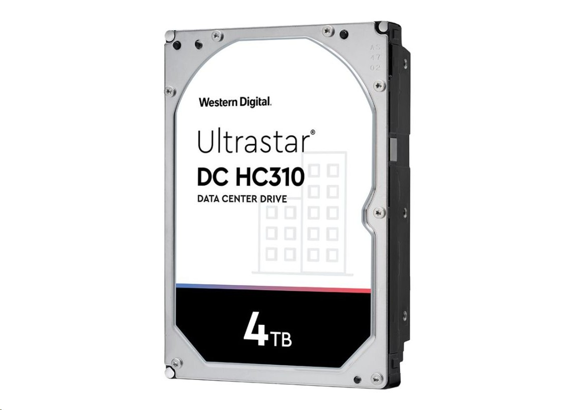 Western Digital 4TB Hgst Ultrastar 7K6 7200RPM Sas 12GB/s 3.5 Internal Hard Drive 0B35919
