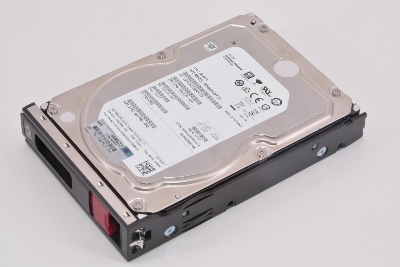Seagate 4TB Hp  ST4000NM0165 7200RPM Sata 6GB/s 3.5 Internal Hot Swap Hard Drive