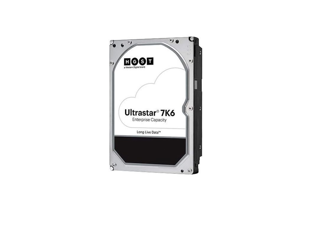 Hitachi 4TB Hgst Ultrastar 7K6 Sas 7200RPM 12GB/s 3.5 Internal Hard Drive 0B35915