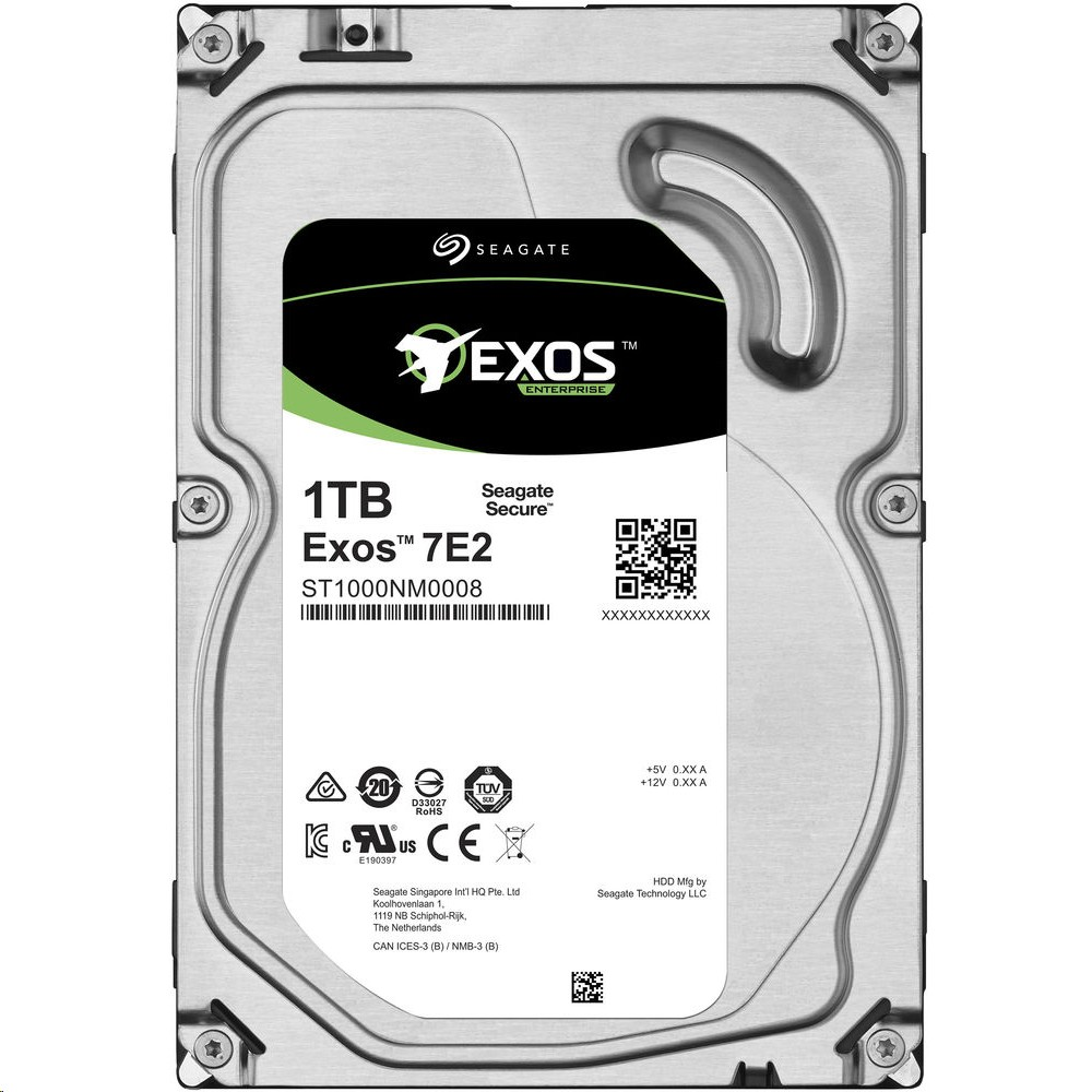 Seagate 1TB Enterprise 7200RPM Sata 6GB/s 3.5 Hdd ST1000NM0008