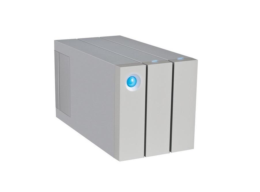 Lacie 12TB (2x6TB) 2big 2-Bay Thunderbolt 2 Usb 3.0 Raid Array External Hard Drive 9000473U