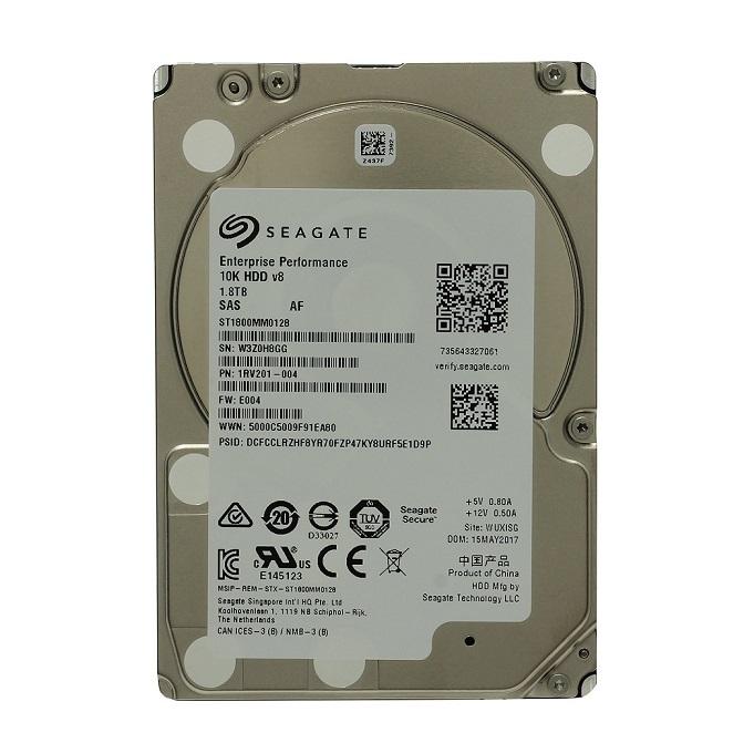 Seagate 1.8TB Performance Sas 10K 12GB/s 2.5 Internal Hard Drive ST1800MM0128