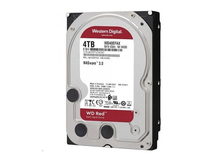 Western Digital 4TB Sata 6GB/s 5400RPM 3.5 Red Internal Nas Hard Drive WD40EFAX