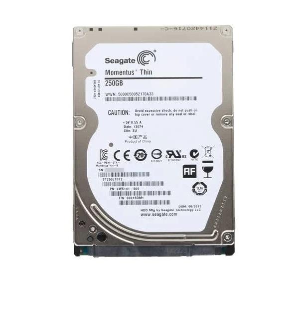 Seagate 250GB Momentus Thin Sata 3GB/s 5400RPM 2.5 Internal Hard Drive ST250LT012