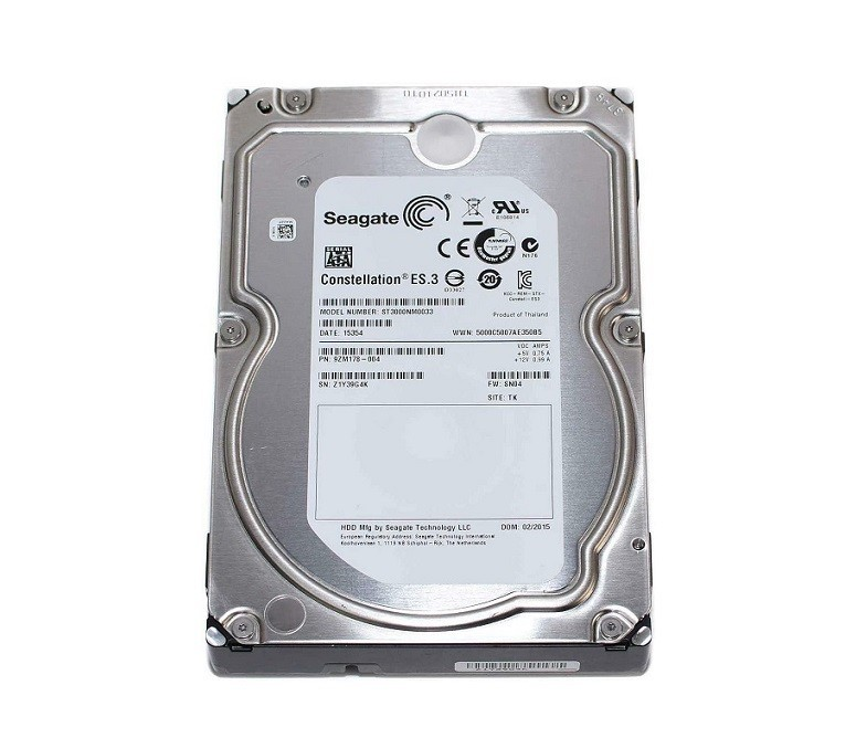Seagate 3TB Hp Sata 7200RPM 128MB Buffer 3.5 Internal Hard Drive ST3000NM0033