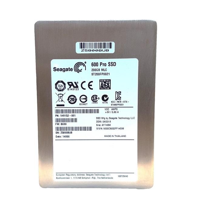 Seagate 200GB 600 Pro Sata 6GB/s 2.5 7mm Solid State Drive ST200FP0021