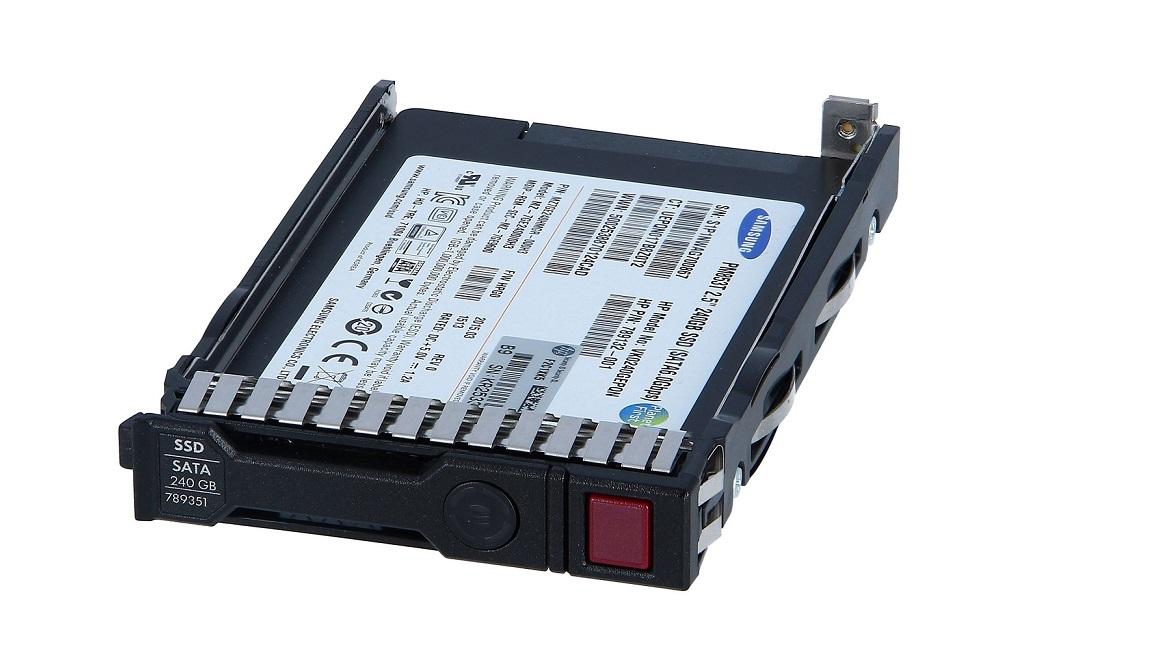 240GB HP G8 G9 SATA 6Gbps 2.5 Hot-Swap Internal SSD Drive 789135-B21