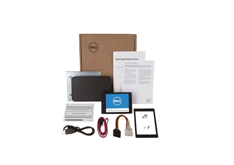 Dell 512GB SC308 Solid State SATA3 6Gbps 2.5 Ssd Drive Upgrade Kit SNP7WDGHK3/512G