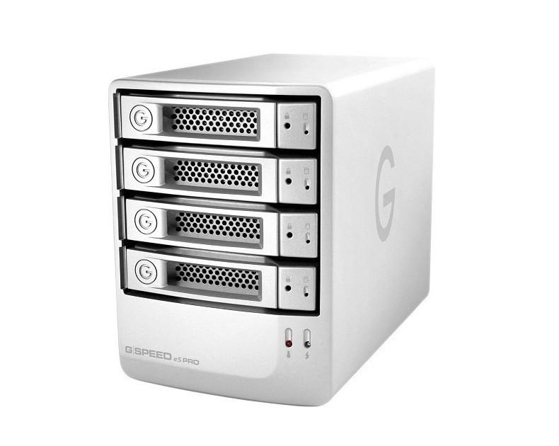 G-Technology 0G02057 12TB (4x3TB) Four-Bay Hard Drive Mini-SAS RAID Array 0G02057