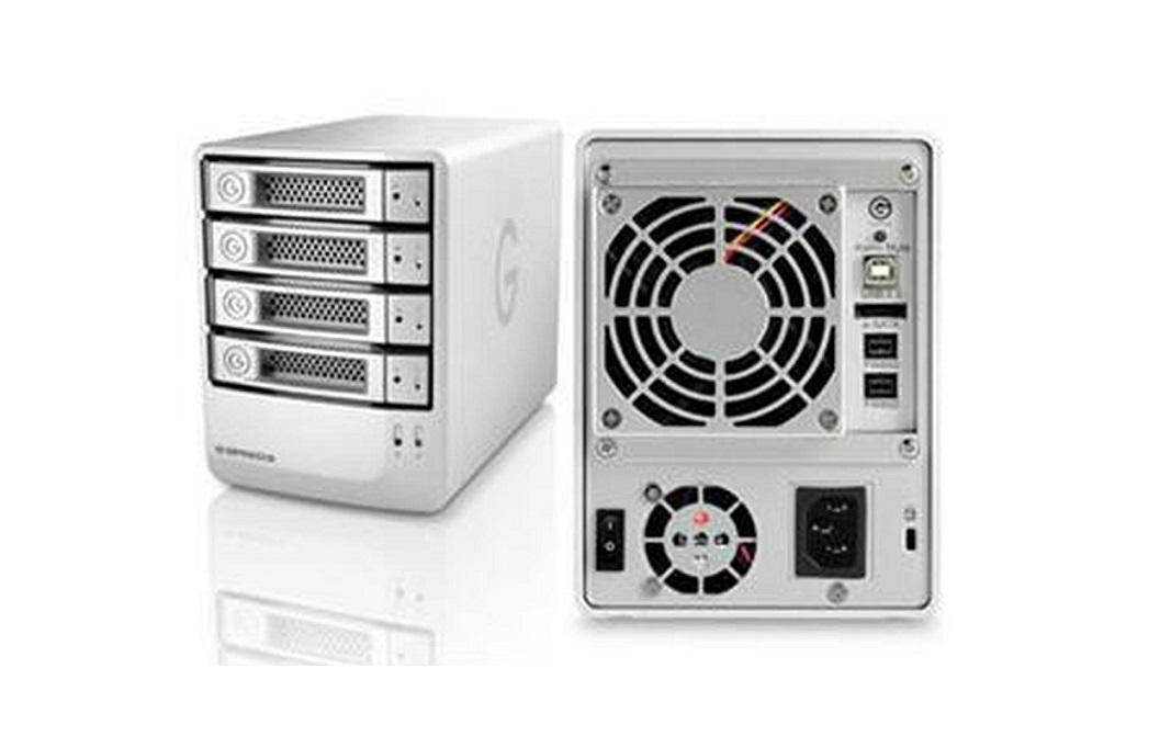 Hitachi Global Storage G-Technology 8TB (4x2TB) G-Speed 4-Bay Firewire Usb Raid External Hard Drive Array 0G01793