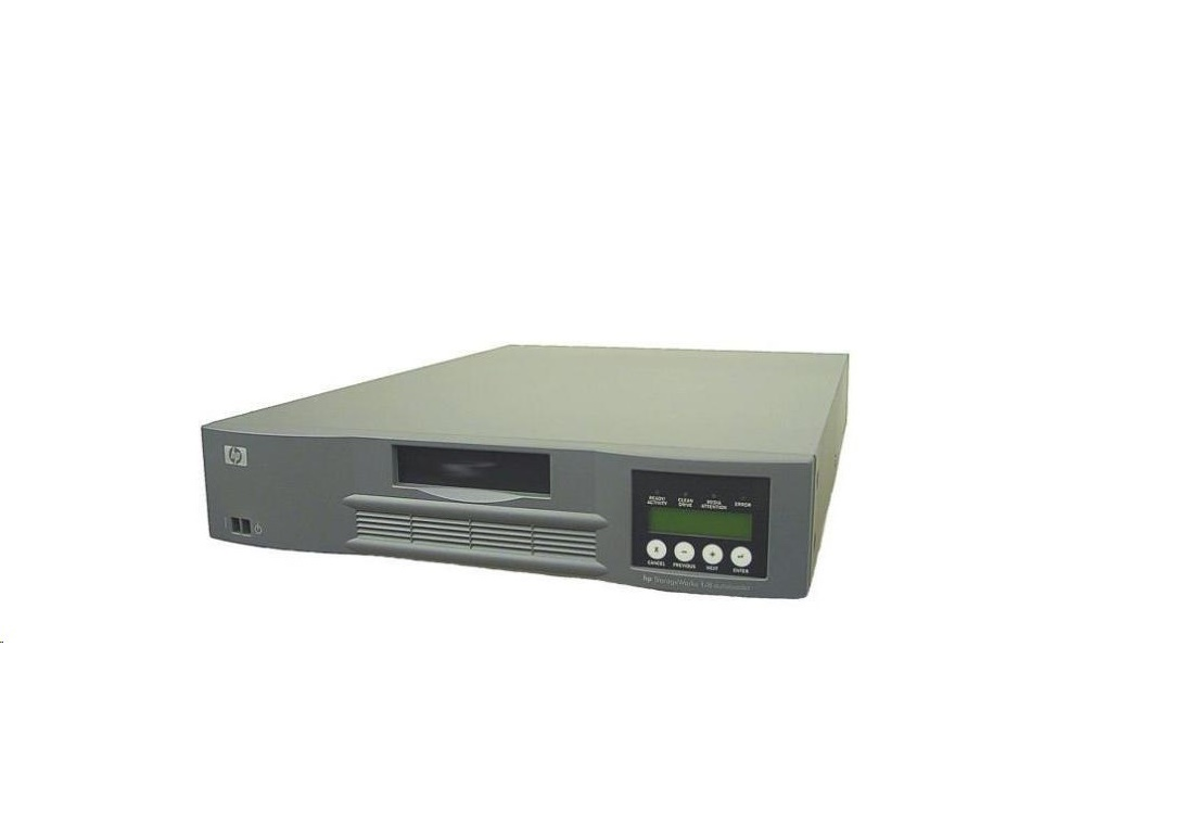Hp Ultrium 960 Lto 1/8 Ultra320 Scsi 68pin External 2U Tape Autoloader 391206-001